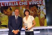 foto:IPP/Gioia Botteghi Roma 7/06/2010 Porta a porta con Francesca Schiavone