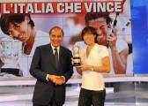 foto:IPP/Gioia Botteghi Roma 7/06/2010 Porta a porta con Francesca Schiavone con Bruno Vespa