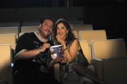 foto:IPP/Gioia Botteghi Roma 7/06/2010 programma di raidue Stracult il conduttore GMAX  e la sua ospite Selene