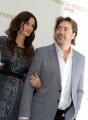 Foto IPP/Gioia Botteghi  Roma 16/09/2010 _ presentazione del film Mangia prega ama, nella foto Julia Roberts, Javier Barden
