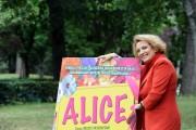 Foto/IPP/Gioia Botteghi Roma 22/06/2010 presentazione del film Alice, nella foto:Fioretta Mari