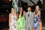 foto:IPP/Gioia Botteghi Roma 10/07/2010 Fiction Fest, nella foto: Andy Carcia con moglie e figlie