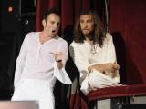 foto:IPP/Gioia Botteghi Roma 27/07/2010 JESUS CHRIST SUPERSTAR presentato al teatro Sistina nella foto  Paride Acacia , Cristian Ruiz