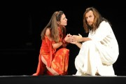 foto:IPP/Gioia Botteghi Roma 27/07/2010 JESUS CHRIST SUPERSTAR presentato al teatro Sistina nella foto  Paride Acacia , Simona Bencini
