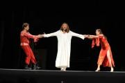 foto:IPP/Gioia Botteghi Roma 27/07/2010 JESUS CHRIST SUPERSTAR presentato al teatro Sistina nella foto Matteo Becucci, Paride Acacia , Simona Bencini