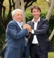 Foto IPP/Gioia Botteghi  Roma 8/09/2010 _ programmi di raidue presentazione , Michele Guardì e Milo Infante