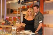 Foto/IPP/Gioia Botteghi Roma 10/09/2010 ritorno di Antonella Clerici alla programma La prova del cuoco, nella foto con Lorenzo Branchetti