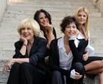 Foto IPP/Gioia Botteghi  Roma 15/09/2010 _ presentazione della fiction LA LADRA, nella foto Veronica Pivetti , Lia Tanzi, Daniela Terreri, Micol Azzurro