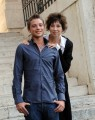 Foto IPP/Gioia Botteghi  Roma 15/09/2010 _ presentazione della fiction LA LADRA, nella foto Veronica Pivetti , Alessio Chiodini