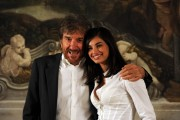 Foto IPP/Gioia Botteghi  Roma 16/09/2010 _ presentazione della fiction di raiuno Preferisco il Parasiso con Francesca Chillemi e Gigi Proietti