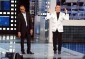 """Foto IPP/Gioia Botteghi  Roma, 17 settembre 2010, Rai: presentazione de """"I migliori anni"""" in onda su Raiuno in prima serata il venerdì sera . Conduce Carlo Conti e Nino Frassica"""