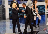 """Foto IPP/Gioia Botteghi  Roma, 17 settembre 2010, Rai: presentazione de """"I migliori anni"""" in onda su Raiuno in prima serata il venerdì sera . Conduce Carlo Conti, ospite Sylvie Vartan"""