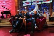 Foto IPP/Gioia Botteghi  Roma 27/09/2010 _ conferenza stampa del programma di raitre, PARLA CON ME, nella foto Ascanio Celestini, Diego Bianchi, Serena Dandini, Dario Vergassola