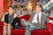 Foto IPP/Gioia Botteghi  Roma 27/09/2010 _ conferenza stampa del programma di raitre, PARLA CON ME, nella foto il direttore di raitre Paolo Ruffini con Serena Dandini
