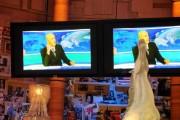 Foto IPP/Gioia Botteghi  Roma 27/09/2010 _ conferenza stampa del programma di raitre, PARLA CON ME, nella foto lo spot tv incriminato