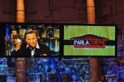 Foto IPP/Gioia Botteghi  Roma 28/09/2010 _ Prima puntata del programma di raitre, PARLA CON ME, nella foto  l'imitazione di Clooney