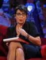 Foto IPP/Gioia Botteghi  Roma 28/09/2010 _ Prima puntata del programma di raitre, PARLA CON ME, nella foto  Serena Dandini