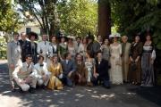 10 foto ORGOGLIO 3 conferenza stampa nelle foto l'intero cast artistico  sulla destra Paolo Ferrari