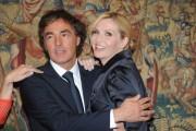 Foto/IPP/Gioia Botteghi Roma 30/09/2010 conferenza stampa di Domenica in, nella foto: Lorella Cuccarini con Massimo Giletti