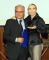 Foto/IPP/Gioia Botteghi Roma 30/09/2010 conferenza stampa di Domenica in, nella foto: Lorella Cuccarini con il direttore di raiuno Mauro Mazza