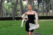 Foto/IPP/Gioia Botteghi Roma 05/10/2010 Presentazione della fiction LE DUE FACCE DELL'AMORE, in onda su canale 5 in 6 puntate, nella foto: Nathalie Rapti Gomez