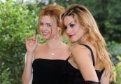 Foto/IPP/Gioia Botteghi Roma 05/10/2010 Presentazione della fiction LE DUE FACCE DELL'AMORE, in onda su canale 5 in 6 puntate, nella foto: Nathalie Rapti Gomez, Lola Ponce
