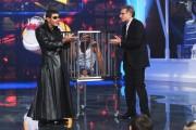 Foto/IPP/Gioia Botteghi Roma 21/10/2010 terza puntata di Peter Pan, nella foto: Paolo Bonolis con Luca Laurenti