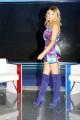 Foto/IPP/Gioia Botteghi Roma 10/10/2010 Prima puntata di Tv mania , raidue , la conduttrice Angela Melillo