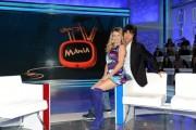 Foto/IPP/Gioia Botteghi Roma 10/10/2010 Prima puntata di Tv mania , raidue , i conduttori Simone Annichiarico e Angela Melillo