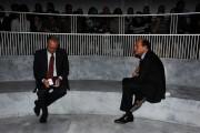 Foto/IPP/Gioia Botteghi Roma 14/10/2010 Annozero , nella foto Epifani e Bersani