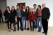 Foto/IPP/Gioia Botteghi Roma 14/10/2010 Presentazione della serie tv Terra Ribelle , raiuno, nella foto: il cast con la regista Cinzia Torrini