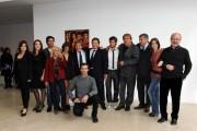 Foto/IPP/Gioia Botteghi Roma 14/10/2010 Presentazione della serie tv Terra Ribelle , raiuno, nella foto: il cast con regista e produttori