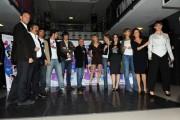 Foto/IPP/Gioia Botteghi Roma 22/10/2010 presentazione del film Maschi contro femmine, nella foto: il cast