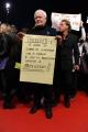 Foto/IPP/Gioia Botteghi Roma 28/10/2010 Festival del Cinema Di Roma, La protesta degli attori e dei tecnici, nella foto: l'occupazione del red carpet, Mario Donatone