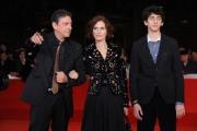 Foto/IPP/Gioia BotteghiRoma 29/10/2010 Festival del Cinema Di Roma ,Red Carpet del film di landis, nella fotocon Sergio Castellitto con la moglie Margharet Mazzantini, e il figlio Pietro