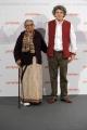 Foto/IPP/Gioia Botteghi Roma 31/10/2010 Festival del Cinema Di Roma, Gangor, nella foto:L'autrice del libro e premio Nobe,l Mahasweta Devi, il regista Italo Spinelli