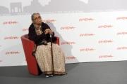 Foto/IPP/Gioia Botteghi Roma 31/10/2010 Festival del Cinema Di Roma, Gangor, nella foto:L'autrice del libro e premio Nobe,l Mahasweta Devi