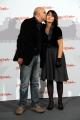 Foto/IPP/Gioia Botteghi Roma 31/10/2010 Festival del Cinema Di Roma, La scomparsa di Patò, nella foto: Il regista Rocco Mortellini con la figlia attrice Alessandra