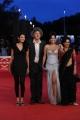 Foto/IPP/Gioia Botteghi Roma 31/10/2010 Festival del Cinema Di Roma, Red Carpet Gangor, nella foto: Italo Spinelli con Priyanka Bose, Tillotama Shome, Seema Rahmani