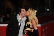 Foto/IPP/Gioia Botteghi Roma 5/11/2010 premi del festival del cinema di Roma: film I want to be a Soldier, Christian Molina e Valeria Marini