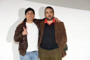 Foto/IPP/Gioia Botteghi Roma 12/11/2010visita sul set del film SE SEI COSI, TI DICO SI, nella foto: Emilio Solfrizzi ed il regista Eugenio Cappuccio