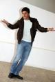 Foto/IPP/Gioia Botteghi Roma 12/11/2010visita sul set del film SE SEI COSI, TI DICO SI, nella foto:  Emilio Solfrizzi