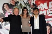 Foto/IPP/Gioia Botteghi Roma 24/11/2010 presentazione del film A Natale mi sposo, nella foto: Elisabetta Canalis, Boldi e Salemme