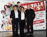 Foto/IPP/Gioia Botteghi Roma 24/11/2010 presentazione del film A Natale mi sposo, nella foto: il regista Paolo Costella, Boldi e Salemme