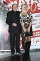 Foto/IPP/Gioia Botteghi Roma 24/11/2010 presentazione del film A Natale mi sposo, nella foto: Massimo Boldi con Loredana De Nardis