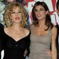 Foto/IPP/Gioia Botteghi Roma 24/11/2010 presentazione del film A Natale mi sposo, nella foto:Nancy Brilli Elisabetta Canalis