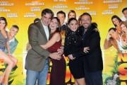 Foto/IPP/Gioia Botteghi Roma 16/12/2010 presentazione del film Natale in Sud Africa, nella foto: Tortora, Autieri, Tabita, De Sica