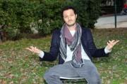 Foto/IPP/Gioia Botteghi Roma 21/12/2010 presentazione della fiction mediaset _ UN CANE PER DUE_ con  Fabio Troiano