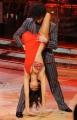 Foto IPP/Gioia Botteghi Roma 9/01/10 prima puntata di BALLANDO CON LE STELLE, nella foto: Cecilia Capriotti e Samuel Peron