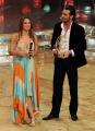 foto:IPP/Gioia Botteghi Roma 20/03/2010 Finale di Ballando con le stelle raiuno, Margherita Granbassi con Stefano Di Filippo premiati